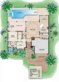 mediterranean style house plan 4 beds 3 50 baths 3606 sq ft plan
