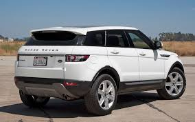 Land Rover Range Rover Evoque 2012 Motor Trend Suv Of The Year
