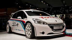 persho cars paris 2012 peugeot 208 type r5 rally car live photos