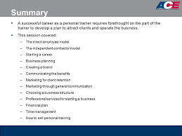 sample personal trainer business plan research proposal of
