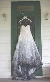 ombré wedding dress best 25 dipped wedding dress ideas on colorful