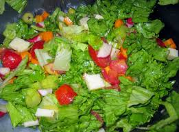 jeannes tossed salad with italian dressing recipe genius kitchen