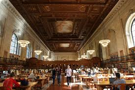 new york public library u0027s flagship building reopens rooms wsj