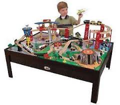 thomas train set wooden table wooden train set ebay