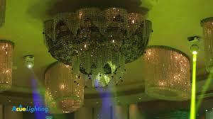Custom Lighting Impression Banquet Hall Acue Lighting Custom Lighting Design