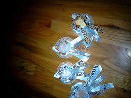 custom jungle baby safari baby shower corsage by sarasfavors