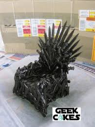 iron cake topper january 2016 this iron throne cake topper was made for my