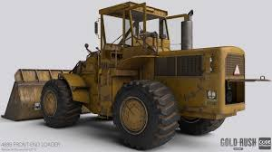 artstation front end loader gold rush the game aleksander