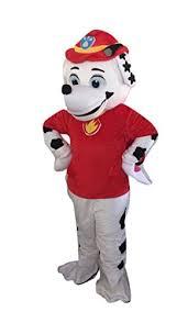 Mascot Costumes Halloween Paw Patrol Marshall Dog Mascot Costume Halloween