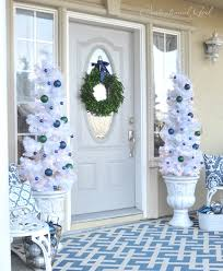White Christmas Decorations For Sale by 23 Creative Front Porch Christmas Decorating Ideas Christmas