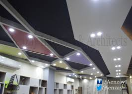 Office Interior Design Software by Aenzay Office U2013 Ceiling Design Aenzay Interiors U0026 Architecture