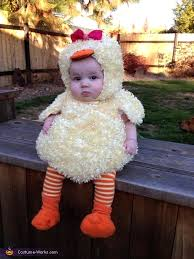 7 Month Baby Halloween Costumes 45 Amazing Diy Baby Halloween Costumes Baby Duck Costume