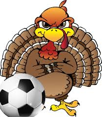 annual thanksgiving soccer turkey bowl