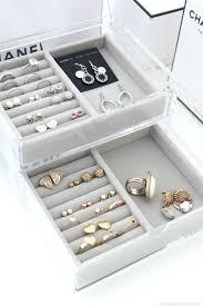 jewelry box inserts for drawers closet drawer organizer jewelry
