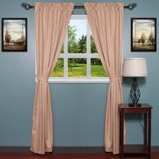 Smocked Burlap Curtains Smocked Burlap Curtains Wayfair