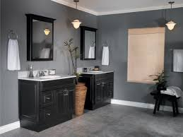 simple elegant dark gray master bathroom wall colors ideas simple elegant dark gray master bathroom wall colors ideas featuring black varnished two mahogany wood cabinets