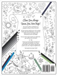 coloring book of shadows amy cesari 9781539502630 amazon com books
