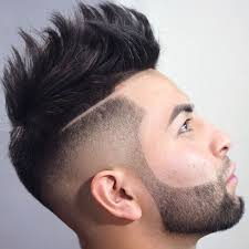 unique hairstyles for men fade haircut