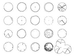 tree symbols gardencad