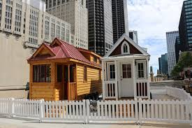 mini homes check out two tiny houses in downtown chicago ahead of their cross