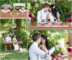 palm beach wedding photographer rustic pomegranate themed