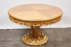 Tree Trunk Table Erika Brunson Tree Trunk Table With Gold Leaf By Erika Brunson