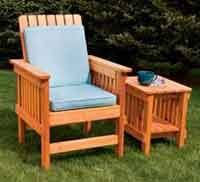 Wood Patio Furniture Plans Over 100 Free Outdoor Woodcraft Plans At Allcrafts Net