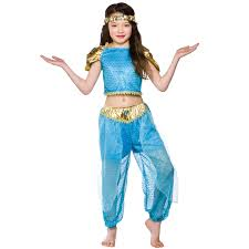 Halloween Costumes Kids Girls Arabian Princess Costume Fancy Dress Up Party Halloween