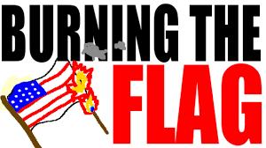Texas Flag Pledge Should Flag Burning Be Illegal Youtube