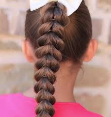 cute hairstyles pull through braid cute and doable girl s hairstyles