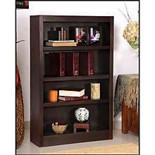 Four Shelf Bookcase Concepts In Wood Always Free Shipping At Officefurniture Com