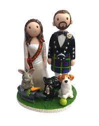 wedding cake toppers hand made personalised wedding cake toppers