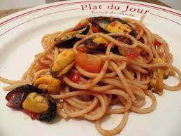 cuisiner moule spaghettis aux moules sauce tomate envie de cuisiner