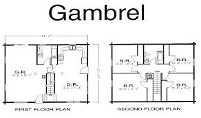 House Floorplans Gambrel Log Home Log Home Kits U0026 Plans