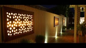 litecrafts wall art outdoor feature led light boxes and