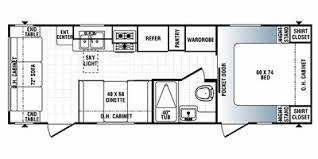 Puma Travel Trailers Floor Plans Used 2008 Puma 25rs Lightweight Camping Trailer For Sale In