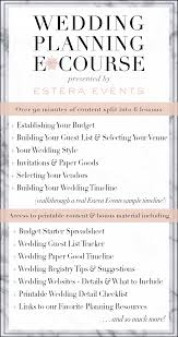 wedding planner course wedding planning e course by estera events