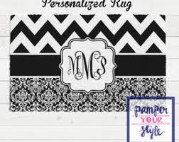 Damask Area Rug Black And White Paris Personalized Area Rug Black And Pink Paris Area Rug