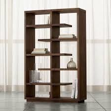 Walnut Ladder Bookcase Bookcases Wood Metal And Glass Crate And Barrel