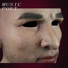 online shop music poet the most real man mask silicone mask for