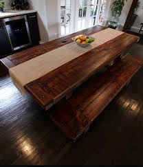 Rustic Kitchen Table Alluring Rustic Kitchen Sets Top Kitchen - Rustic wood kitchen tables