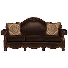 City Furniture Leather Sofa City Furniture Regal Tone Leather Sofa