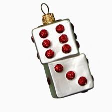 ornaments to remember dice ornament home