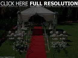 Backyard Bbq Reception Ideas Astonishing Small Backyard Wedding Ceremony Photo Design Images On