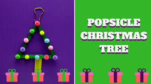 christmas craft popsicle stick christmas tree popsicle stick