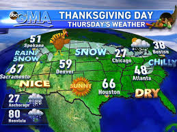 weather for thanksgiving nor easter to hit in time for thanksgiving travel abc news