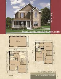 Floor Plans Two Story by Modular Homes Illinois Photos