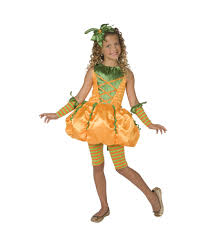 precious pumpkin kids halloween costume