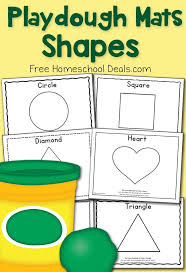 free printable shape playdough mats free shapes play dough mats instant download prompts activities
