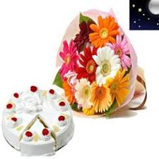 red roses and pineapple cake just rs 1 250 cakes u0026 flowers